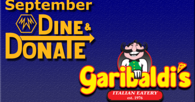 September Dine & Donate – Garibaldi's