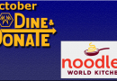 October Dine & Donate