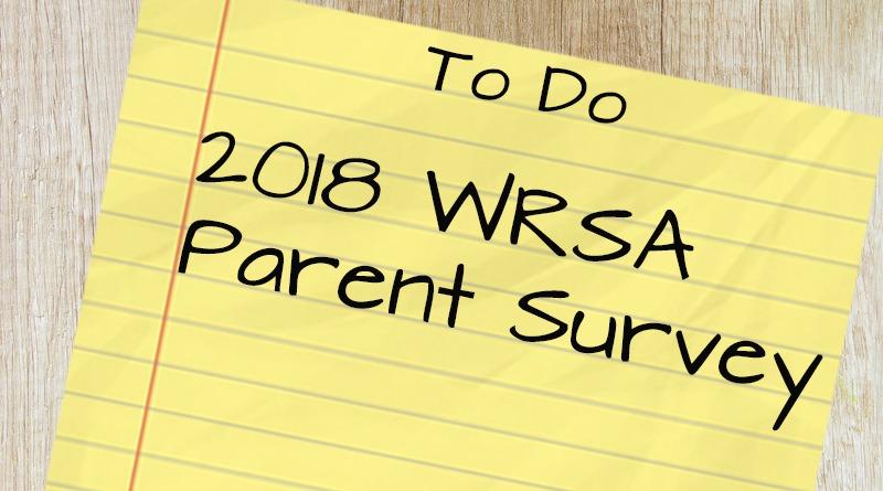WRSA 2018 Parent Survey