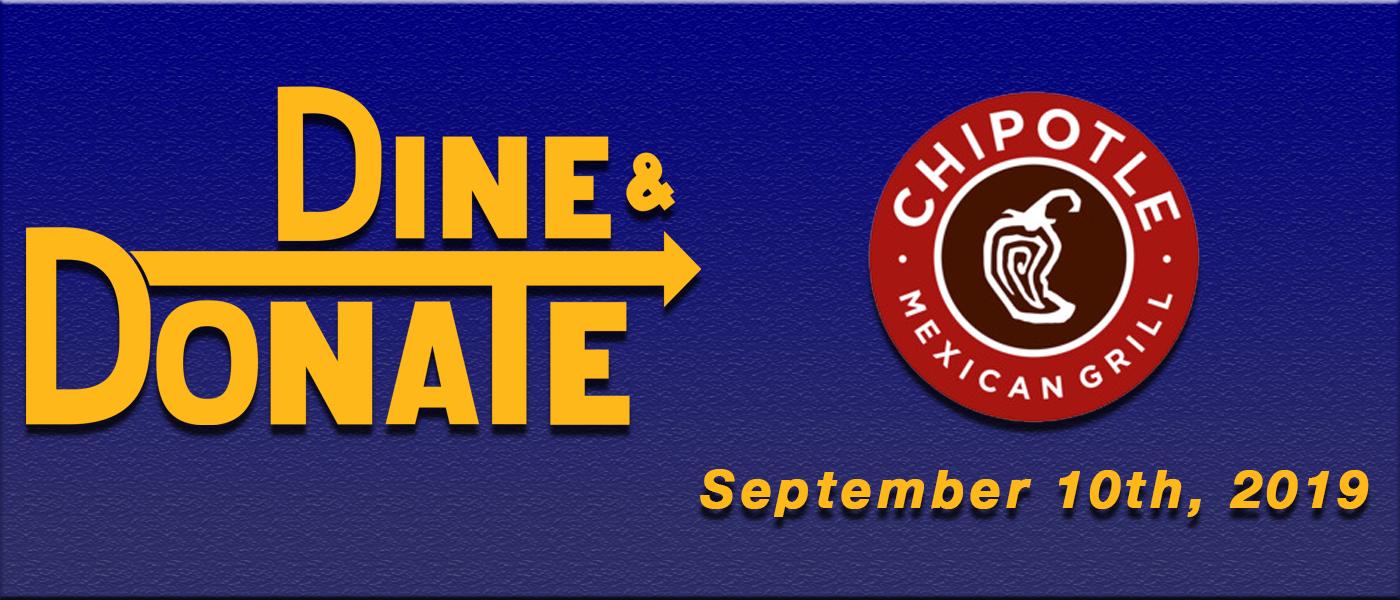 September Dine & Donate