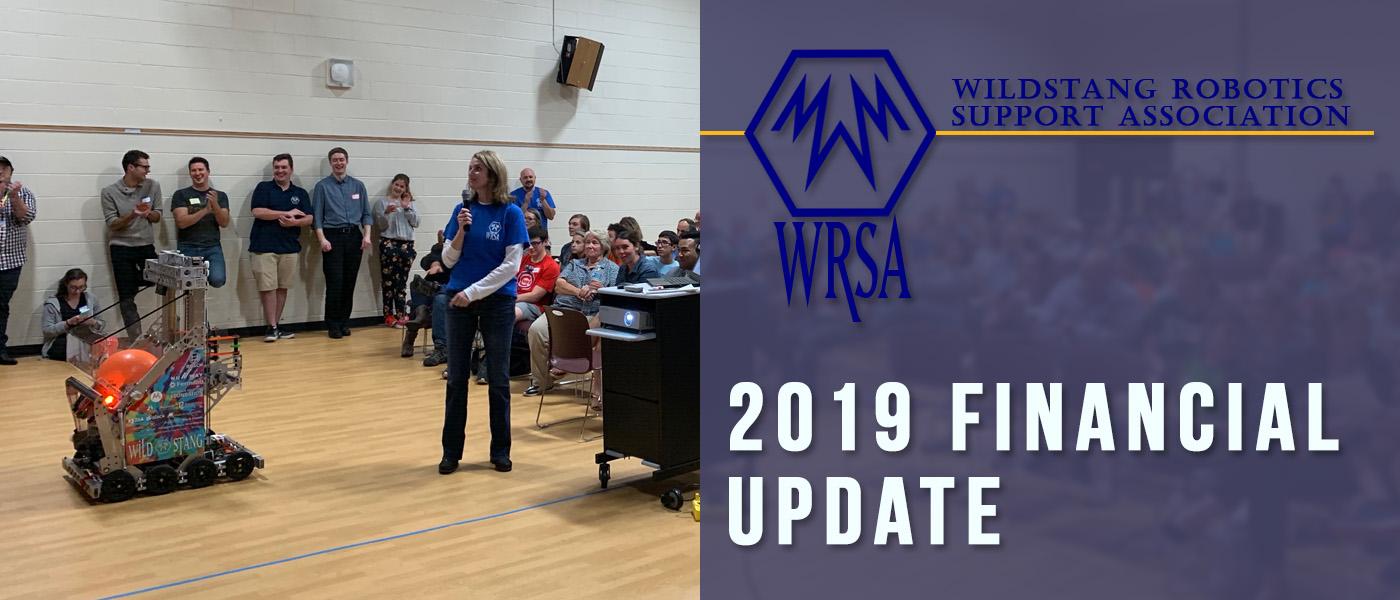WRSA Financial Update