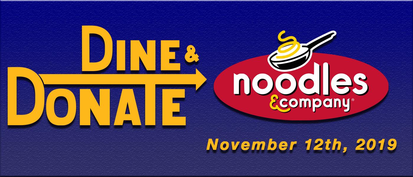 November Dine & Donate