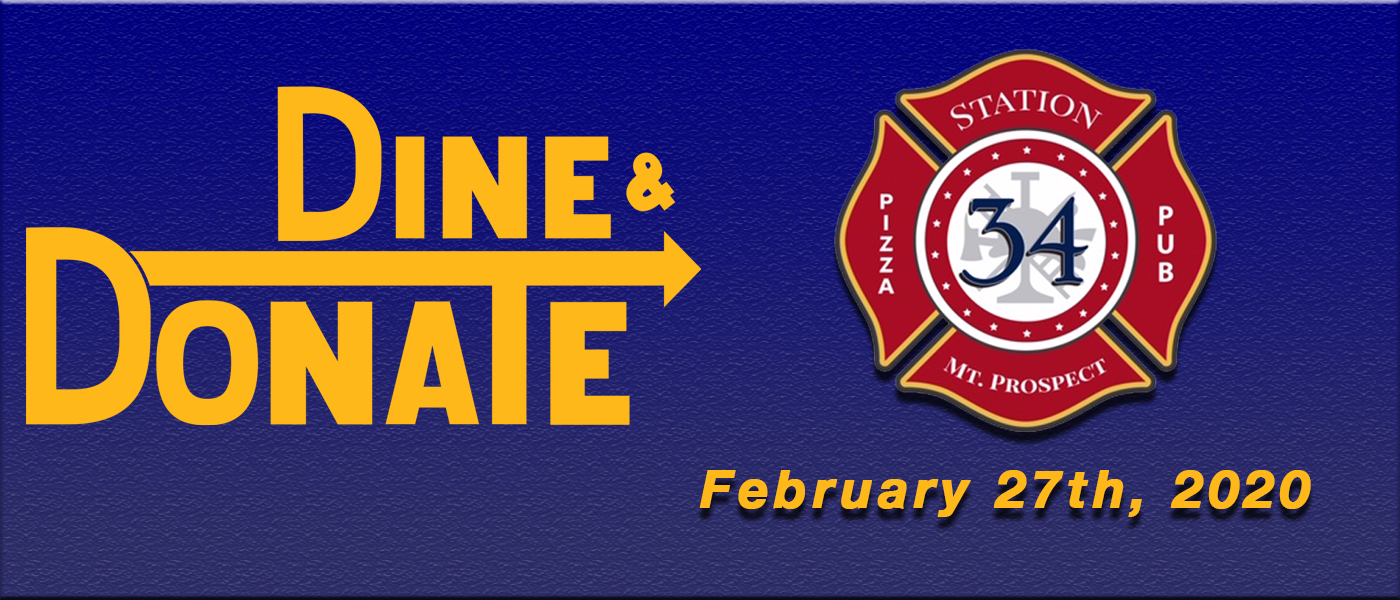 Dine & Donate – February 27th