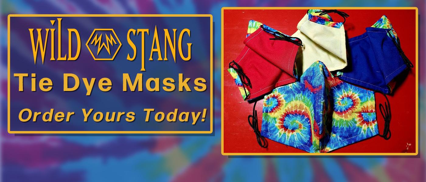 Tie Dye Masks