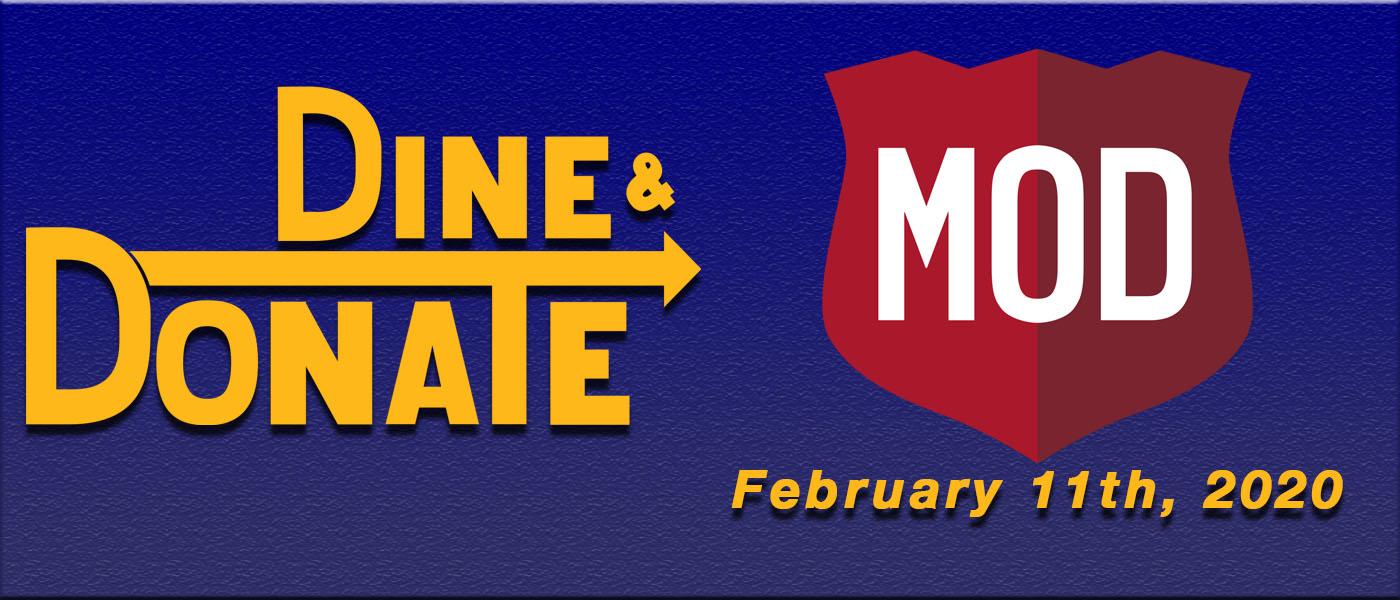 February 11th Dine & Donate